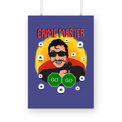 POSTERS A3 Crime Master Go Go Poster FRYING PUN