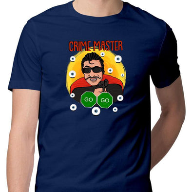 T-SHIRTS Crime Master Go Go T-Shirt For Men FRYING PUN
