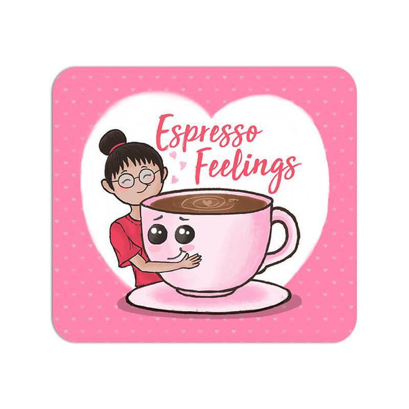 MOUSE PADS Espresso Feelings Mouse Pad