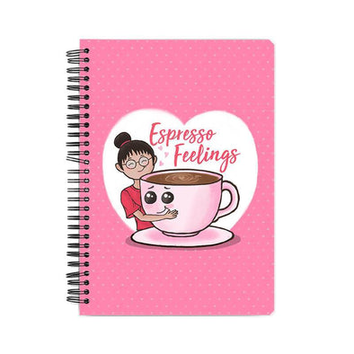 NOTEBOOKS Espresso Feelings Notebook