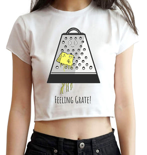 CROP TOPS Feeling Grate Crop Top For Women