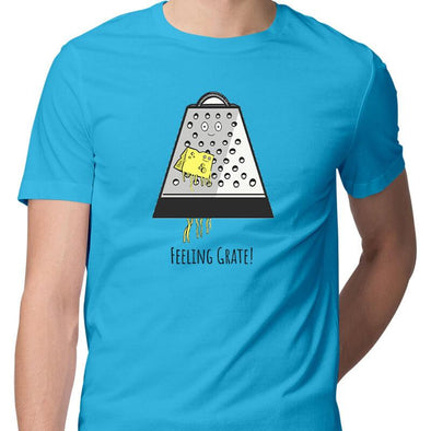 T-SHIRTS Feeling Grate T-Shirt For Men FRYING PUN