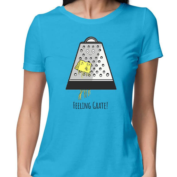 T-SHIRTS Feeling Grate T-Shirt For Women FRYING PUN