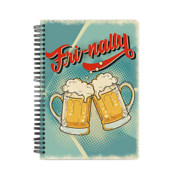 NOTEBOOKS Fri-nally Notebook FRYING PUN