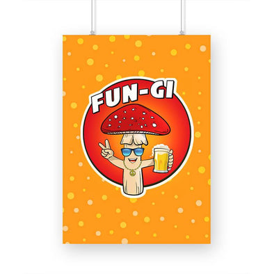 POSTERS A3 Fun-gi Poster FRYING PUN