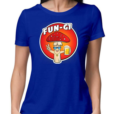 T-SHIRTS Fun-gi T-Shirt For Women FRYING PUN