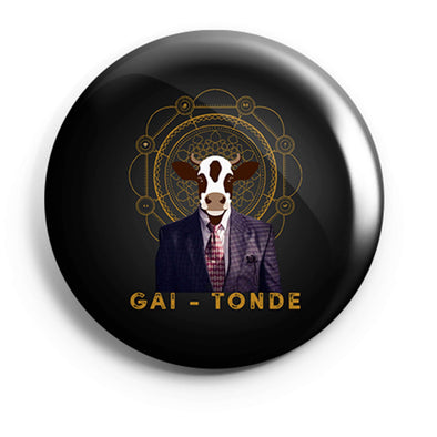 BUTTON BADGES Gai-tonde Button Badge