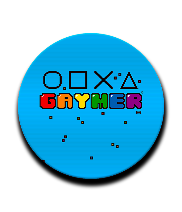 POP GRIPS PATTERNED Gaymer Pop Grip