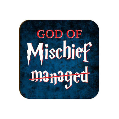 COASTERS God Of Mischief Coaster