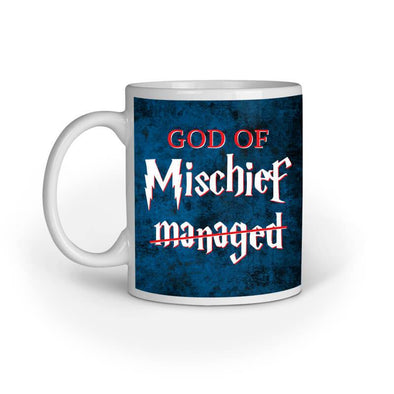 MUGS God Of Mischief Mug FRYING PUN