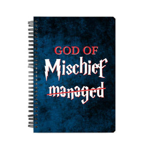 NOTEBOOKS God Of Mischief Notebook