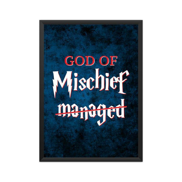 POSTERS A3 God Of Mischief Poster