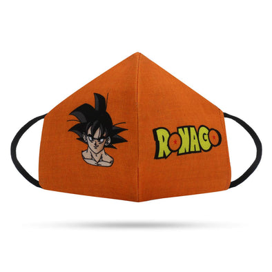 FACE MASKS Goku Ronago 3 Ply 100% Cotton Reusable Face Mask FRYING PUN