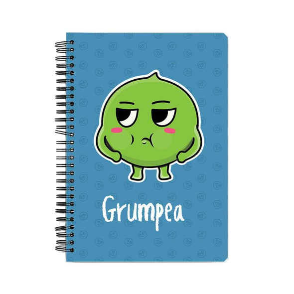 NOTEBOOKS Grumpea Notebook FRYING PUN