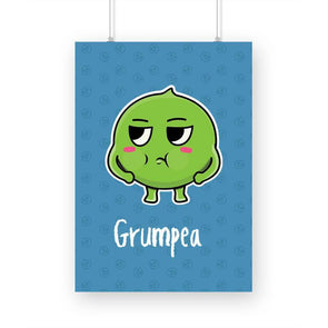 POSTERS A3 Grumpea Poster FRYING PUN