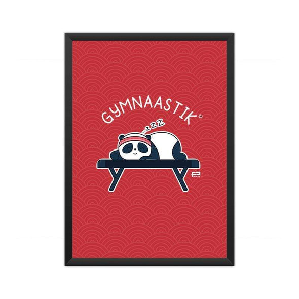 POSTERS A3 FRAMED Gymnaastik Poster FRYING PUN