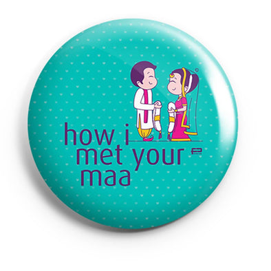 BUTTON BADGES PATTERNED How I Met Your Maa Button Badge