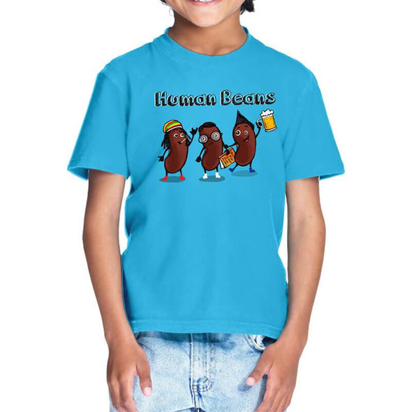 T-SHIRTS Human Beans T-Shirt For Kids FRYING PUN