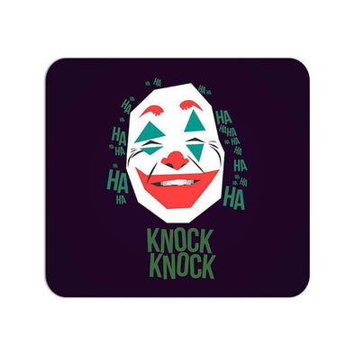 MOUSE PADS Joker Knock Knock Mouse Pad