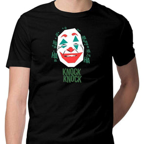 T-SHIRTS Joker Knock Knock T-Shirt For Men FRYING PUN