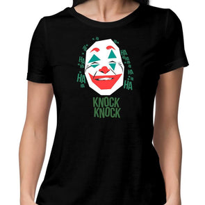 T-SHIRTS Joker Knock Knock T-Shirt For Women FRYING PUN