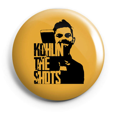BUTTON BADGES PATTERNED Kohlin The Shots Button Badge