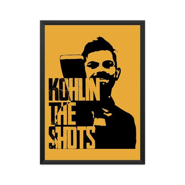 POSTERS A3 FRAMED Kohlin The Shots Poster