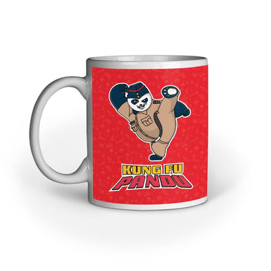 MUGS Kung Fu Pandu Mug FRYING PUN