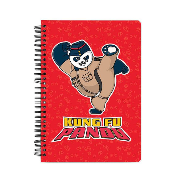NOTEBOOKS Kung Fu Pandu Notebook FRYING PUN