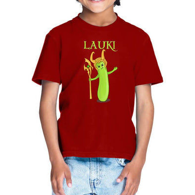 Lauki T-Shirt For Kids FRYING PUN