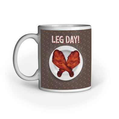 MUGS Leg Day Mug FRYING PUN