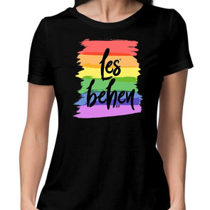T-SHIRTS Les Behen T-Shirt For Women FRYING PUN