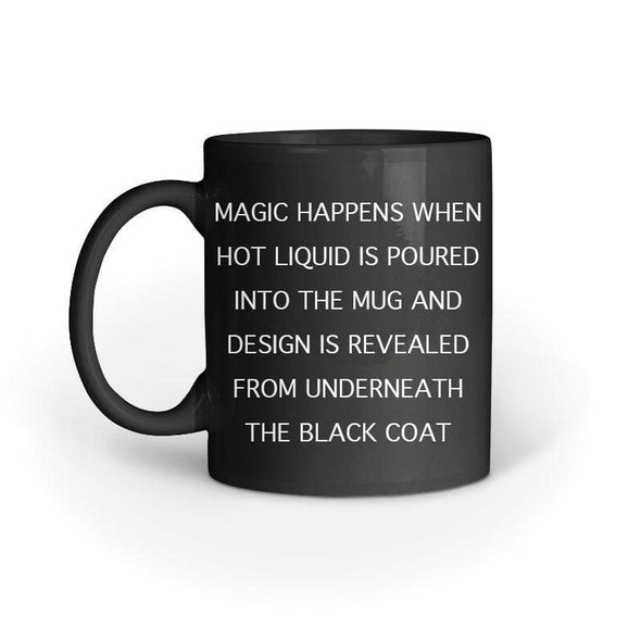 MAGIC MUGS Let The Day Be Gin Magic Mug FRYING PUN