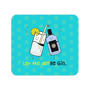 MOUSE PADS Let The Day Be Gin Mouse Pad FRYING PUN