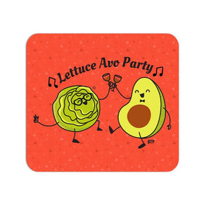 MOUSE PADS Lettuce Avo Party Mouse Pad