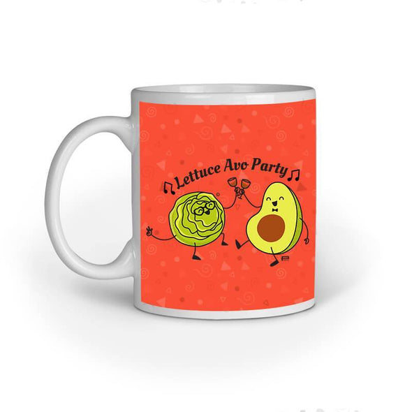 MUGS Lettuce Avo Party Mug
