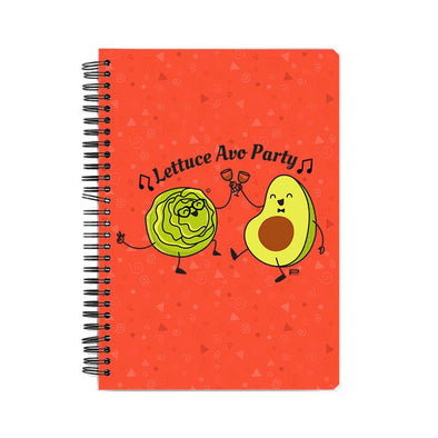 NOTEBOOKS Lettuce Avo Party Notebook FRYING PUN