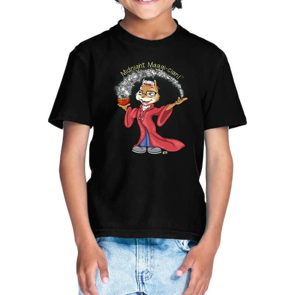 T-SHIRTS 1 / BLACK Midnight Maggi-cian T-Shirt For Kids FRYING PUN