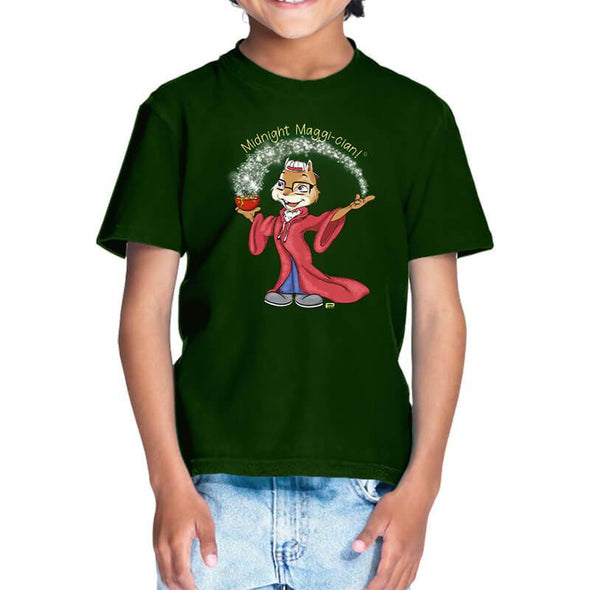 T-SHIRTS 1 / OLIVE GREEN Midnight Maggi-cian T-Shirt For Kids FRYING PUN