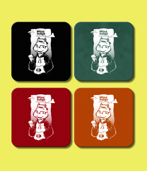 COASTERS Mood I Official Freddy's Coasters (Pack Of 4)