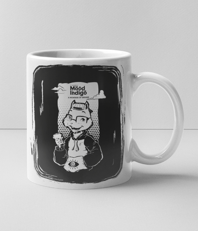 INNER COLORED MUGS BLACK Mood I Official Freddy's Inner Colored Mug