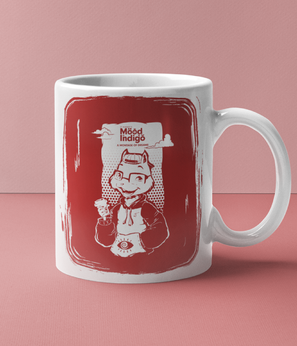 INNER COLORED MUGS RED Mood I Official Freddy's Inner Colored Mug