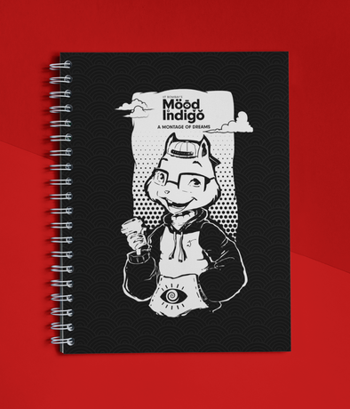 NOTEBOOKS BLACK Mood I Official Freddy's Notebook