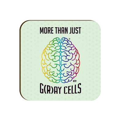 COASTERS More Than Just G(r)ay Cells Coaster FRYING PUN