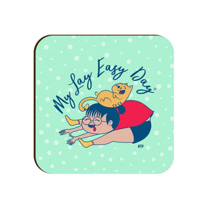 COASTERS My Lay Easy Day Coaster FRYING PUN