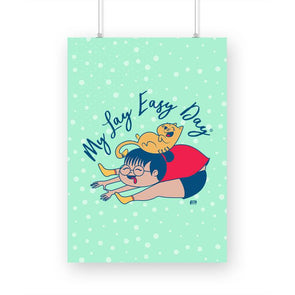 POSTERS A3 My Lay Easy Day Poster FRYING PUN