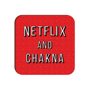 COASTERS Netflix And Chakna Coaster FRYING PUN