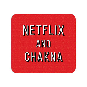MOUSE PADS Netflix And Chakna Mouse Pad FRYING PUN