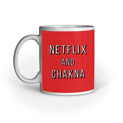 MUGS Netflix And Chakna Mug FRYING PUN