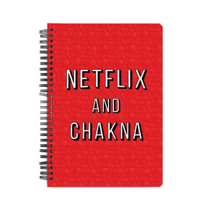 NOTEBOOKS Netflix And Chakna Notebook FRYING PUN